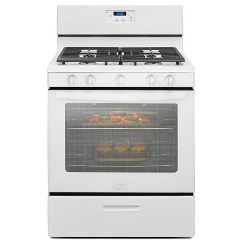 Whirlpool White 5.1 Cu. Ft. Freestanding Gas Range