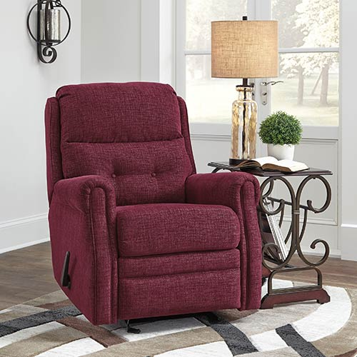 signature-design-by-ashley-penzburg-burgundy-glider-recliner