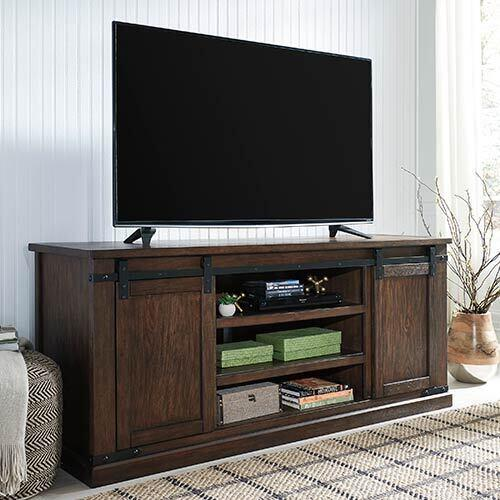 Signature Design by Ashley Budmore 70 Inch TV Stand