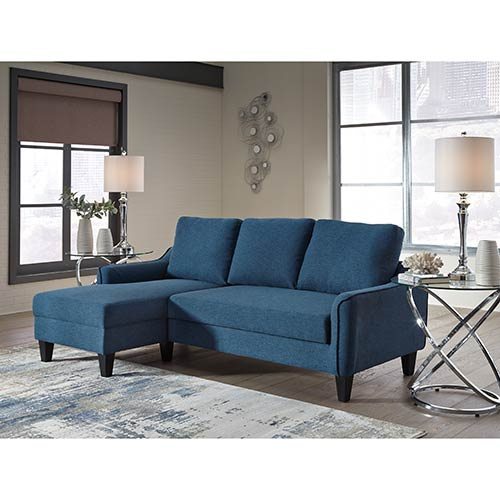 signature-design-by-ashley-jarreau-blue-sofa-chaise-sleeper