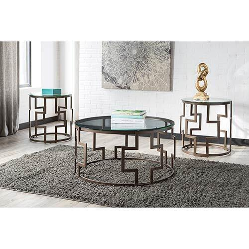Signature Design by Ashley Frostine Coffee Table Set