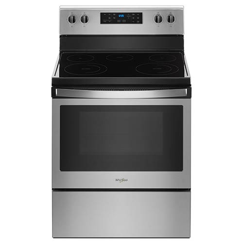 Whirlpool Stainless 5.3 Cu. Ft. Smooth Top Freestanding Electric Range