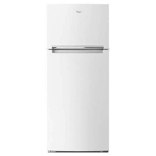 Whirlpool White 18 Cu. Ft. Top-Freezer Refrigerator