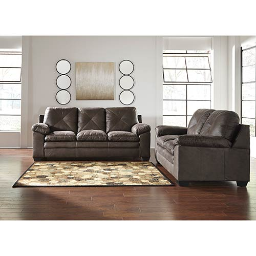 "Nearest Ashley Furniture Store: Signature Design By Ashley ""Speyer-Teak"" Sofa And Loveseat"