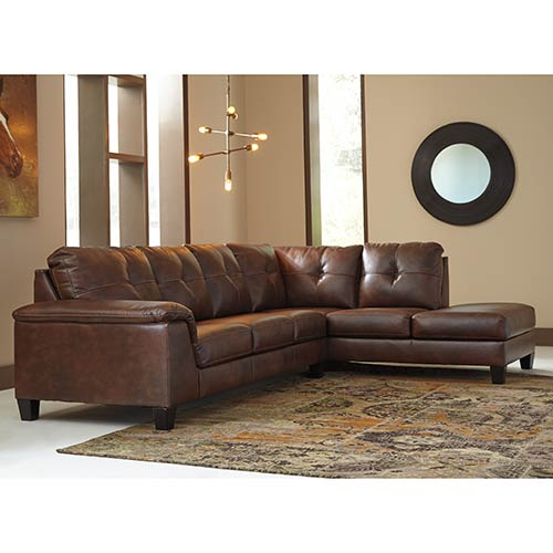 Signature Design by Ashley Goldstone-Autumn 2-Piece Sectional