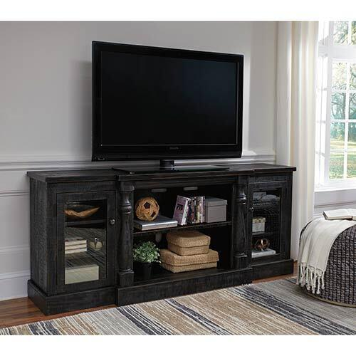 Signature Design by Ashley Mallacar 74 Inch TV Stand
