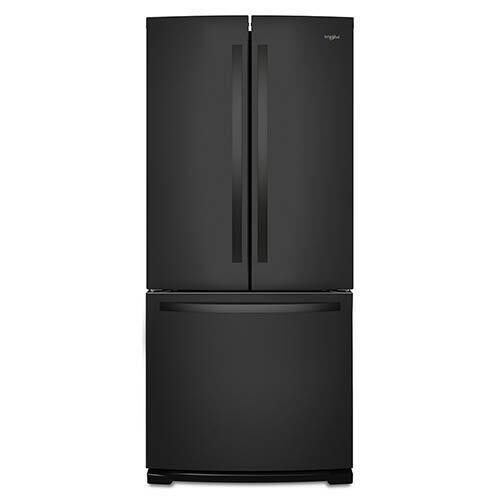 Whirlpool Black 20 Cu. Ft. French Door Refrigerator display image