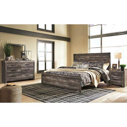 Signature Design by Ashley Wynnlow 6-Piece King Bedroom Set