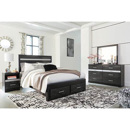 Signature Design by Ashley Starberry 4-Piece Platform Queen Bedroom Set