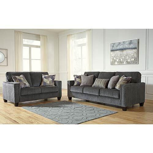 Benchcraft Gavril-Smoke Sofa and Loveseat