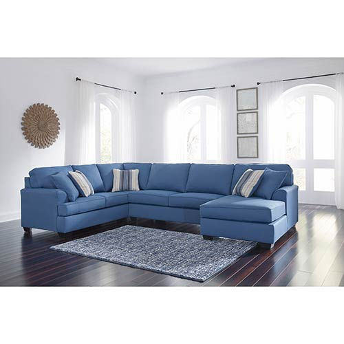 benchcraft-brioni-nuvella-blue-3-piece-sectional