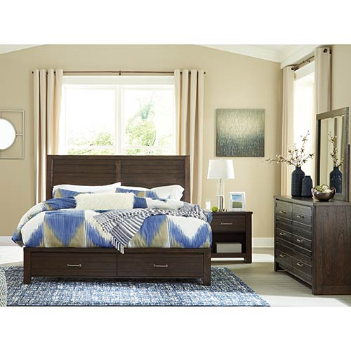 "Signature Design by Ashley ""Darbry"" 6-Piece King Bedroom Set"
