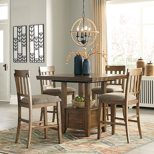 "Benchcraft ""Flaybern"" 5-Piece Dining Set"
