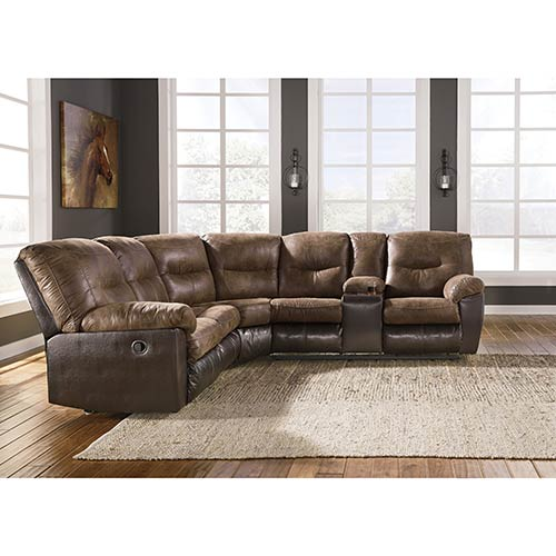benchcraft-leonburg-coffee-2-piece-reclining-sectional