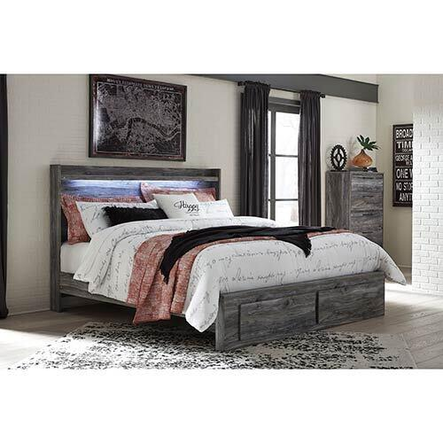 Signature Design by Ashley Baystorm King Bed and Chest Set