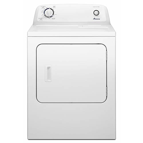 Amana 6.5 Cu. Ft. Top-Load Electric Dryer with Automatic Dryness Control
