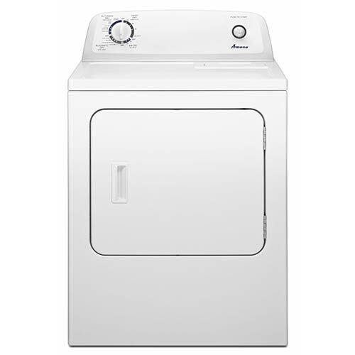 Amana 6.5 Cu. Ft. Top-Load Electric Dryer with Automatic Dryness Control display image