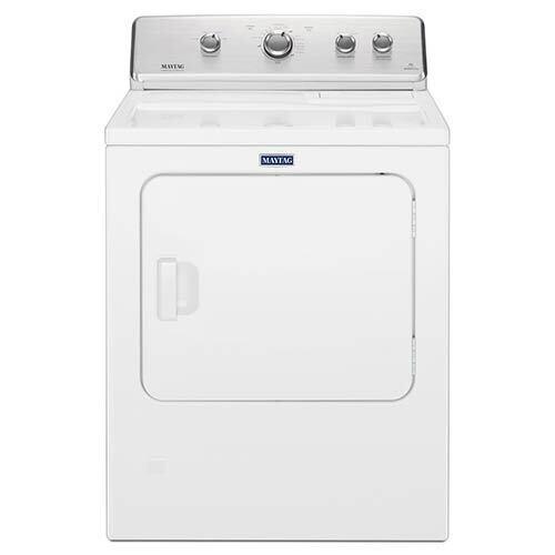 Maytag White 7.0 Cu. Ft. Gas Dryer with IntelliDry® Sensor