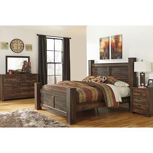 Signature Design by Ashley Quinden 6-Piece King Bedroom Set
