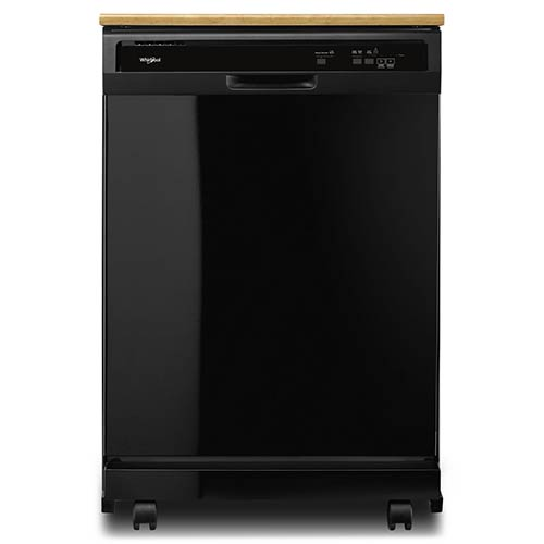 whirlpool-24-black-portable-dishwasher