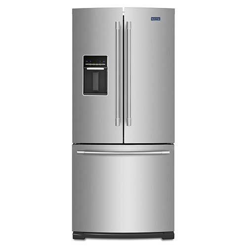 Maytag Stainless 20 Cu. Ft. French Door Refrigerator display image