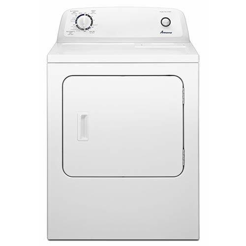 Amana 6.5 Cu. Ft. Gas Dryer with Automatic Dryness Control