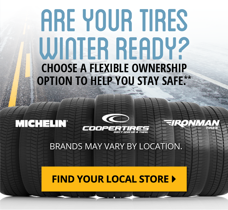 Are Your Tires Winter Ready