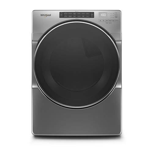 Whirlpool Chrome 7.4 Cu. Ft. Electric Dryer with Wrinkle Shield™ display image